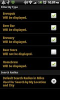 Screenshot of BeerWhere