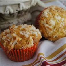 Cinnamon Cupcakes With Toasted Coconut Walnut Icing