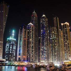 Dubaï 1 by Camille Marzuoli - City,  Street & Park  Skylines