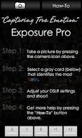 Screenshot of Exposure Pro