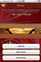 Screenshot of New Vision Church