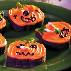 Jack-o'-Lantern Brownies Recipe