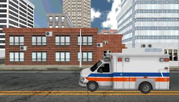 Screenshot of Ambulance Parking 3D