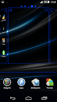 Screenshot of Blue Rays Theme By Arjun Arora