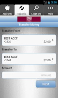 Screenshot of DNB First Mobile Money