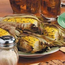 Grilled Corn in Husks
