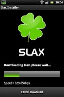 Screenshot of Slax Installer