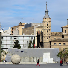 Zaragoza by João Ascenso - City,  Street & Park  Historic Districts ( zaragoza )