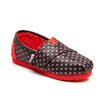 Toms Glitter Dots SHOES