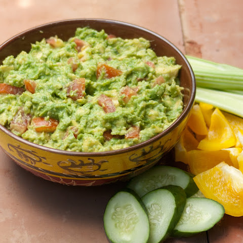 Perfect Party Guacamole - Low Carb, Gluten Free, Sugar Free, Dairy Free