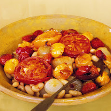 White Beans with Roasted Tomatoes