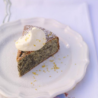 Almond Cake With Lemon & Poppy Seeds