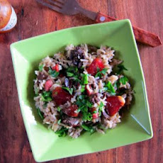 New Orleans Dirty Rice - pressure cooker