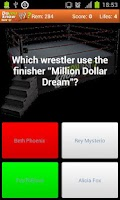 Screenshot of Do you know?  Wrestling Quiz