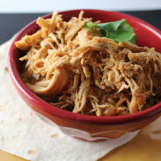 Crock Pot Cafe Rio Copycat Shredded Chicken
