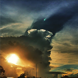 Shade of storm cloud by Tommy Miura - Instagram & Mobile iPhone