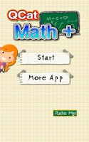 Screenshot of QCat - Kids Math Plus (Free)