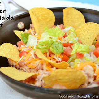 Quick Chicken Enchilada Skillet (adapted from Kraft.com)