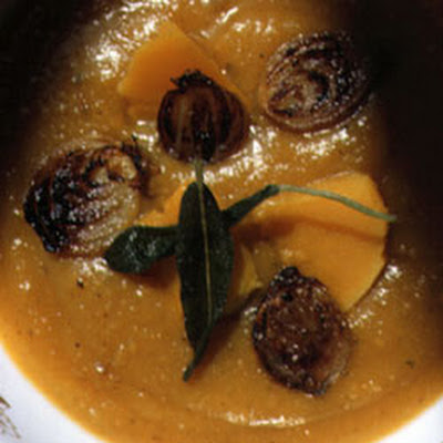 Pumpkin Soup with Sage