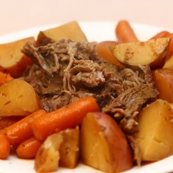 ... pot roast garlicky pot roast roast chicken smokin oven easy crock pot