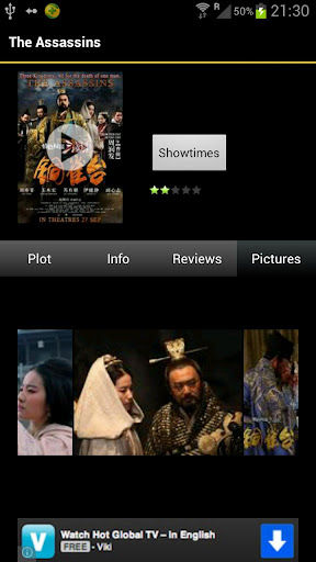 sg-movies for android screenshot