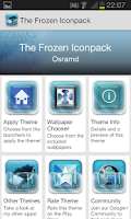 Screenshot of Frozen (ADW APEX NOVA Theme)