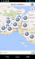 Screenshot of Volkswagen Servis Uygulaması