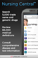 Screenshot of Nursing Central