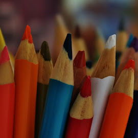 by Lori Kulik - Artistic Objects Education Objects ( artistic item, color, art, colored pencils )