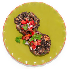 Black Bean Cakes with Queso Fresco