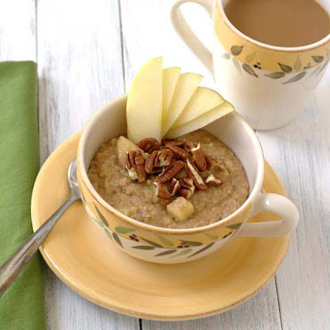 Overnight Apple Pie Steel Cut Oats Recipes — Dishmaps