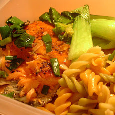 Salmon Twist Pasta Salad