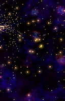Screenshot of Cosmic Journey -Nebula LiveWP