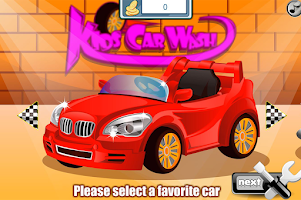 Screenshot of Kids Car Wash