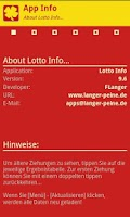 Screenshot of Lotto Deutschland