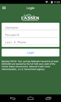 Screenshot of Lassen Credit Union