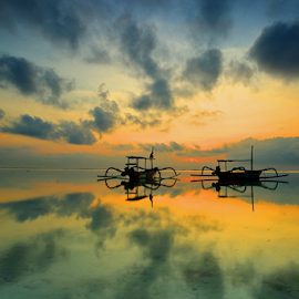 sanur  by Esther Pupung - Landscapes Sunsets & Sunrises
