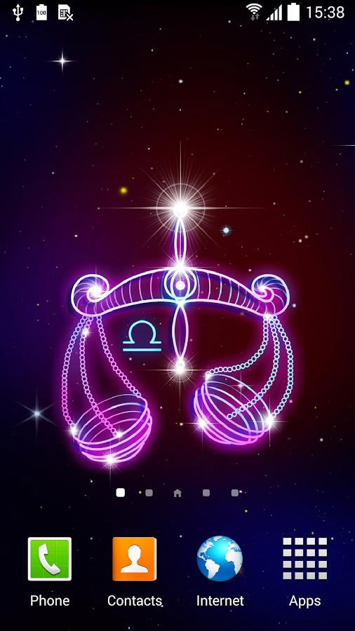 Zodiac Signs Live Wallpaper – Screenshot