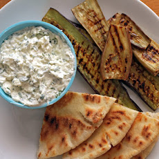 Nigel Slater's Grilled Eggplant with Creamed Feta