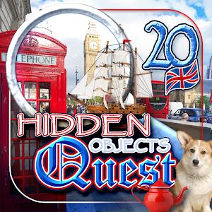 Cover art Hidden Objects Quest 20