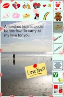 Screenshot of Cards for Lovers