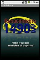 Screenshot of Renacimiento Radio 1490 AM