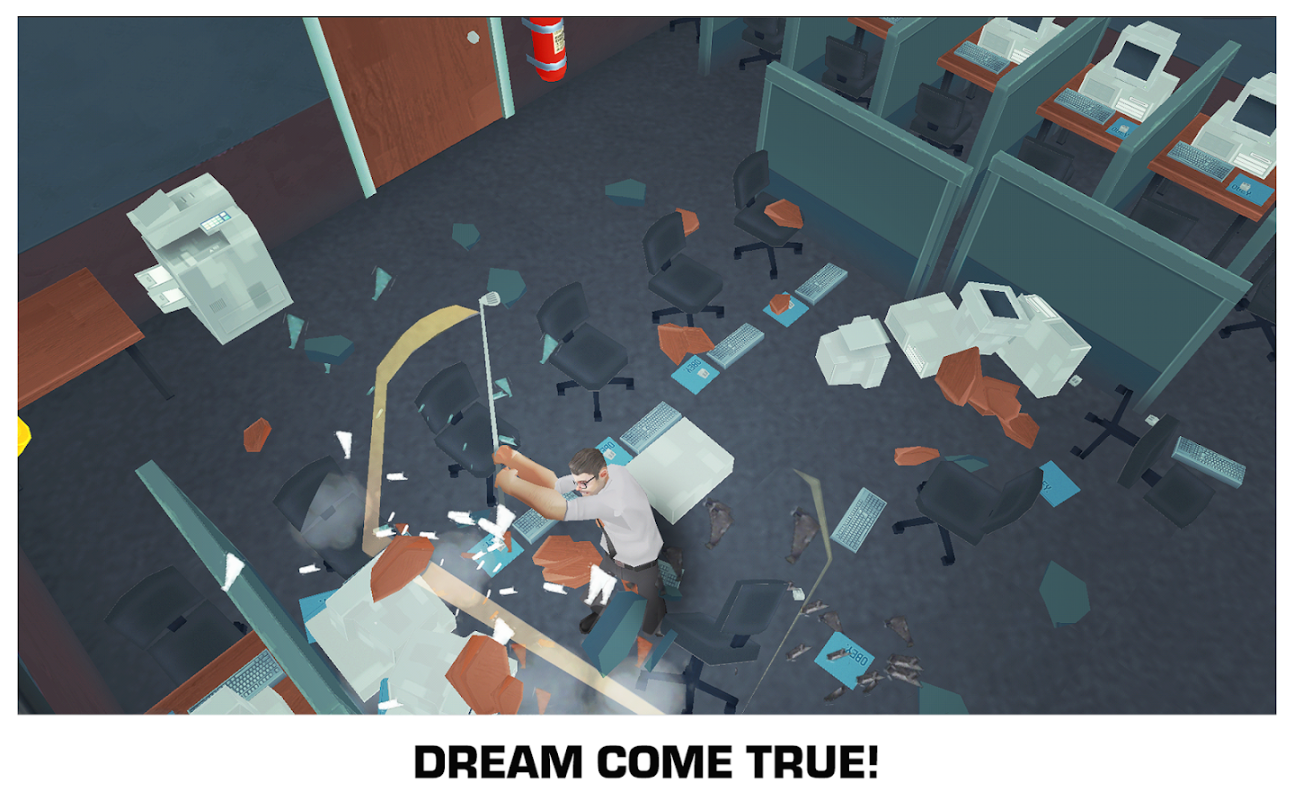 Smash the Office - Stress Fix! Screenshot 5