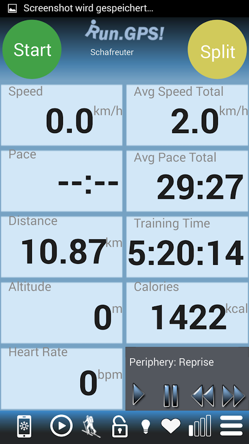 RunGPS Trainer Pro Full Screenshot 0