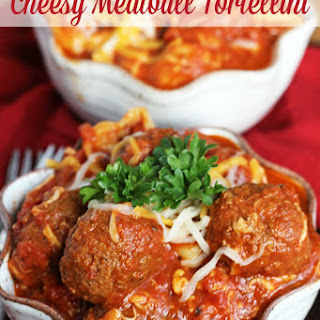 Crock Pot Cheesy Meatball Tortellini