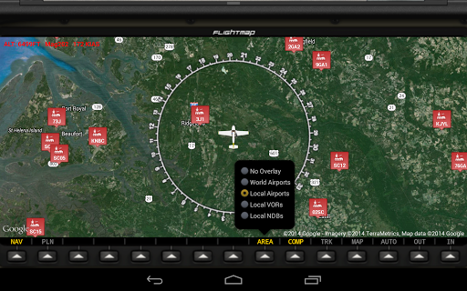 FlightMap - screenshot