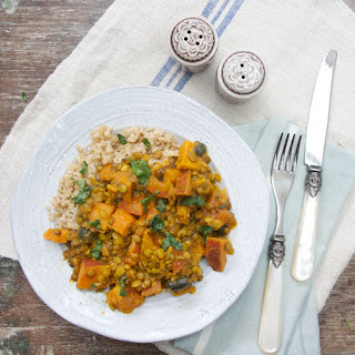 Sweet Potato, Lentil and Coconut Curry