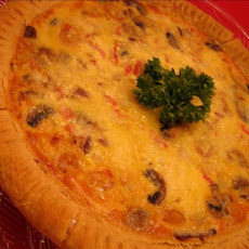 Seafood Cream Cheese Quiche