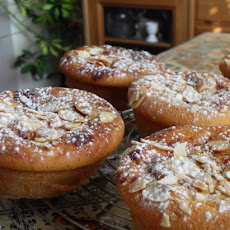 Sour Cherry and Almond Breakfast Buns