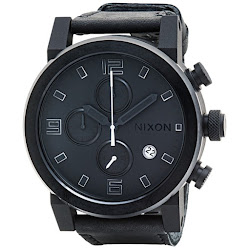 Nixon Ride Chronograph Watch - Leather Band (For Men)